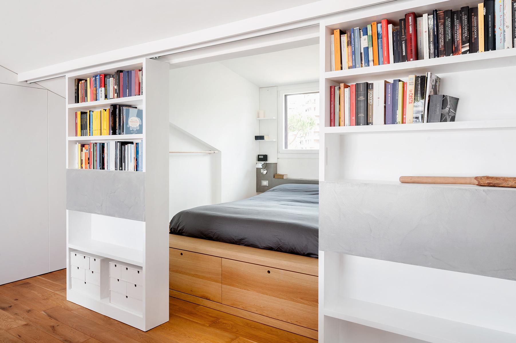 Lozzi realizza per il progetto residenzialedell'Architetto Fausto Gargaglia