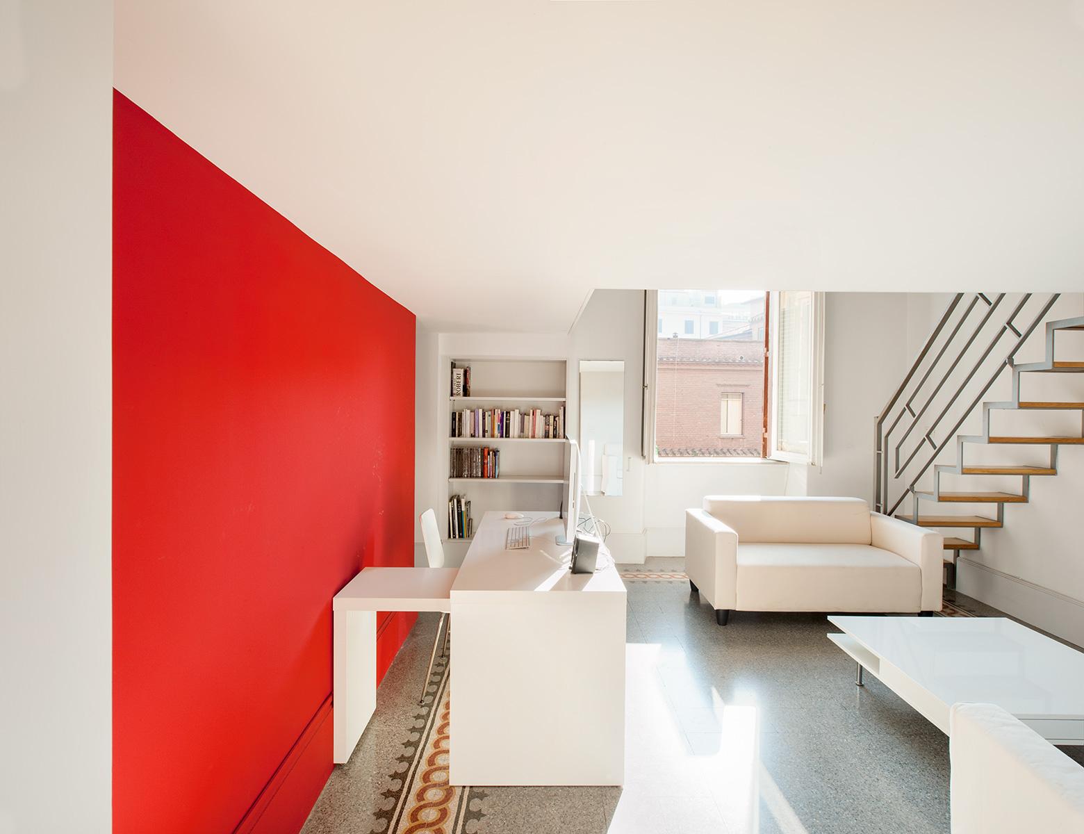 Lozzi realizza per il progetto residenziale dello studio Leonori Architetti